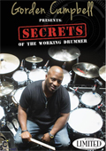 Gorden Campbell - Secrets of the Working Drummer
