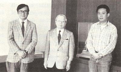 слева-направо: Mike Shimada, Yoshiro Hoshino, Nero Andoh
